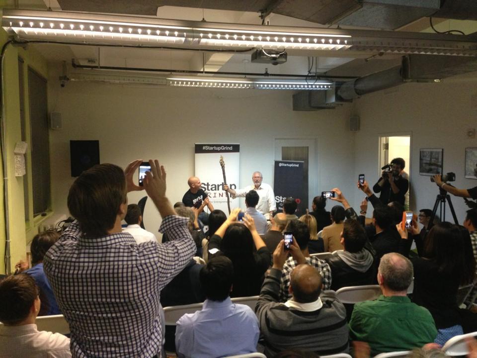 Steve Blank Fireside Chat at AlleyNYC
